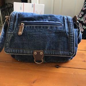 Vintage Blue Jean Purse 3/$25
